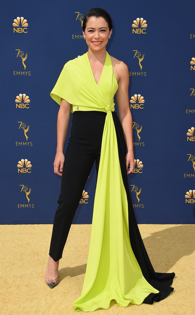 Tatiana Maslany, 2018 Emmys, 2018 Emmy Awards, Red Carpet Fashions