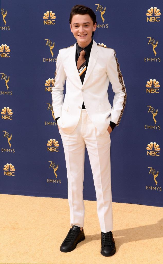 Noah Schnapp, 2018 Emmys, 2018 Emmy Awards, Red Carpet Fashions