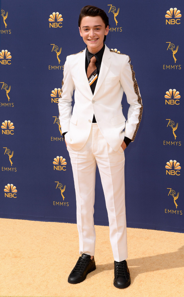 Noah Schnapp, 2018 Emmys, 2018 Emmy Awards, Red Carpet Fashions