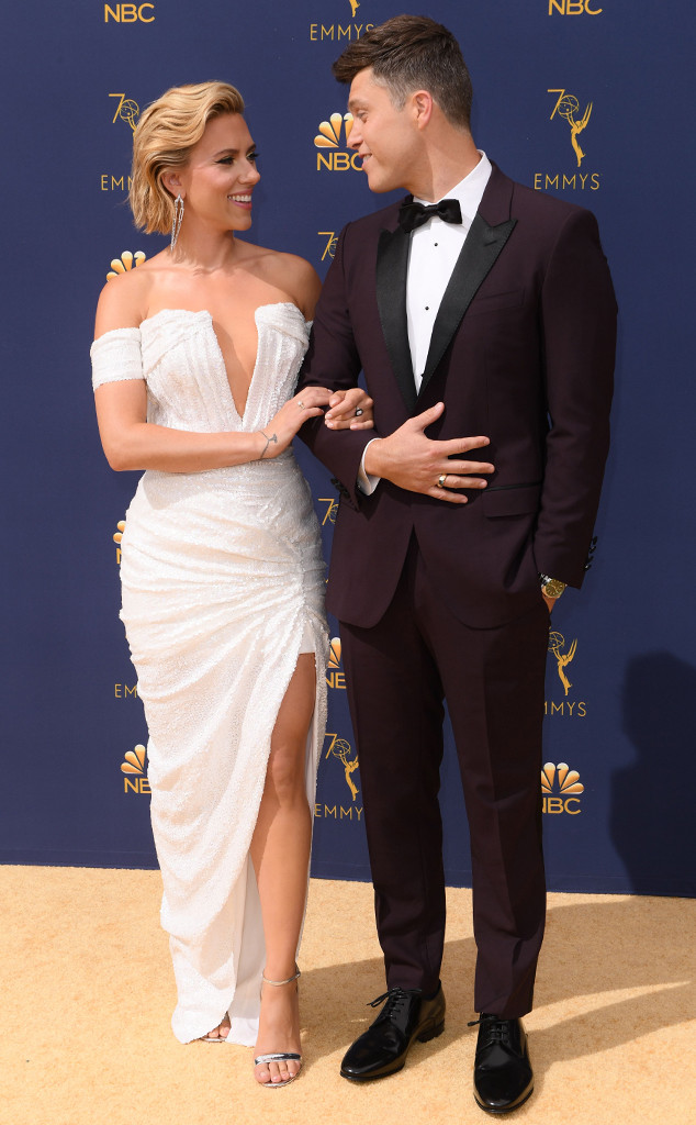 Scarlett Johansson and Colin Jost Are Engaged! Relive Their Cutest Couple Moments