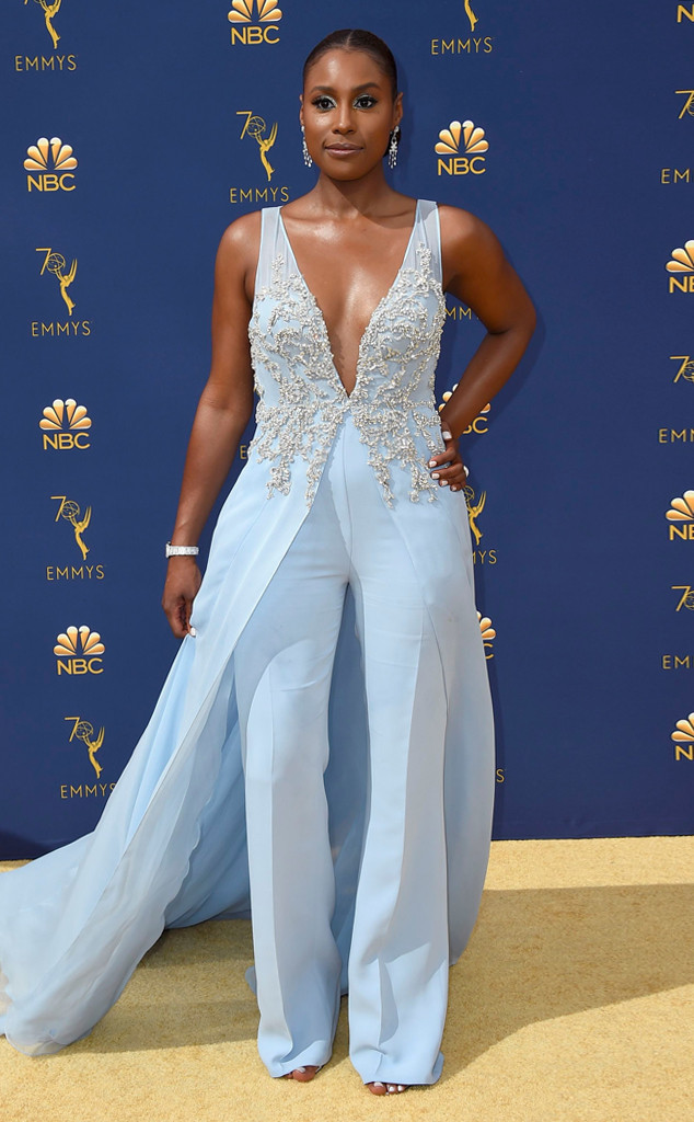 Issa Rae, 2018 Emmys, 2018 Emmy Awards, Red Carpet Fashions