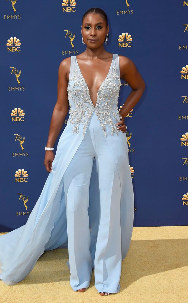 Issa Rae, 2018 Emmys, 2018 Emmy Awards, Red Carpet Fashions