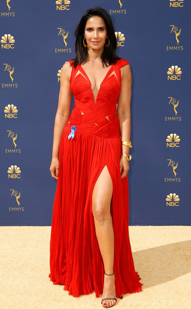 Padma Lakshmi, 2018 Emmys, 2018 Emmy Awards, Red Carpet Fashions