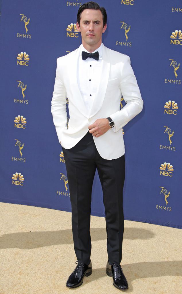 Milo Ventimiglia, 2018 Emmys, 2018 Emmy Awards, Red Carpet Fashions