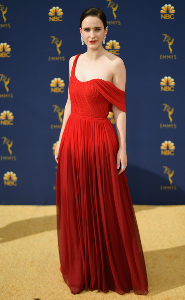 Rachel Brosnahan, 2018 Emmys, 2018 Emmy Awards, Red Carpet Fashions