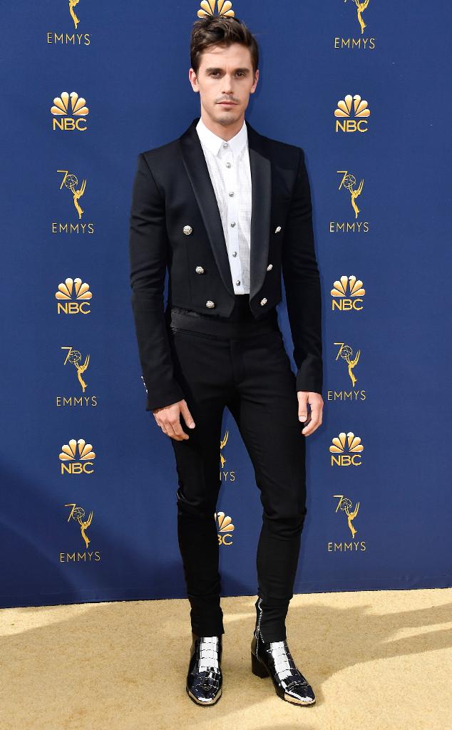 Antoni Porowski, 2018 Emmys, 2018 Emmy Awards, Red Carpet Fashions