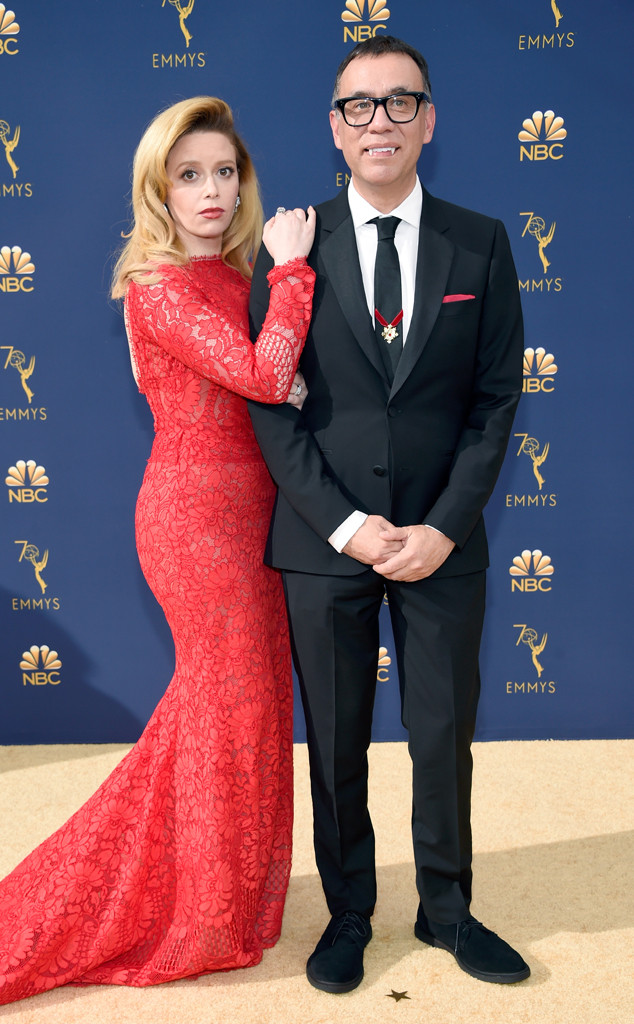 Natasha Lyonne, Fred Armisen, 2018 Emmys, 2018 Emmy Awards, Couples