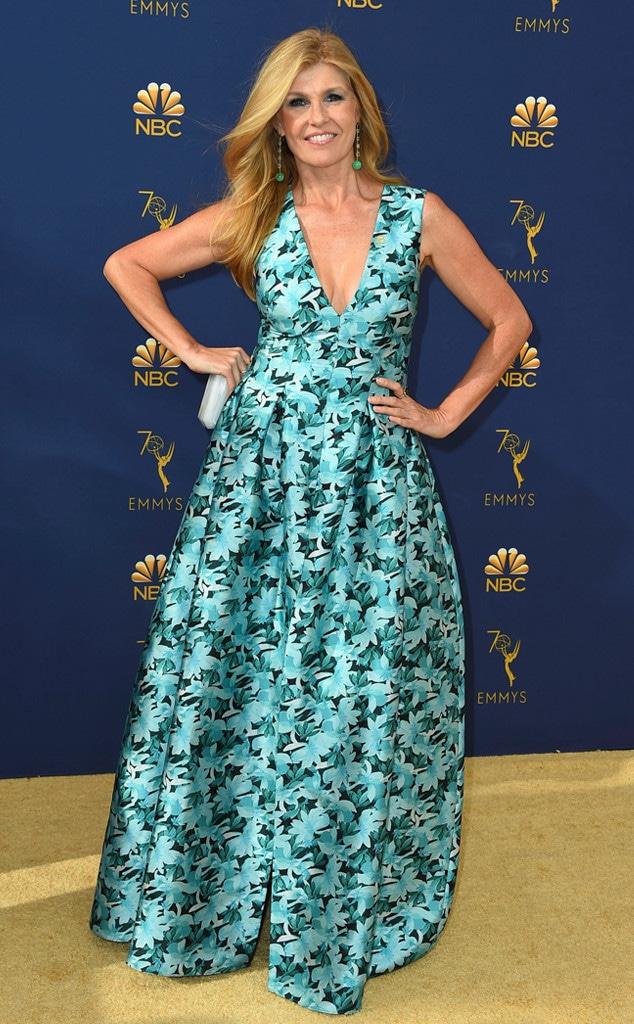 Connie Britton, 2018 Emmys, 2018 Emmy Awards, Red Carpet Fashions