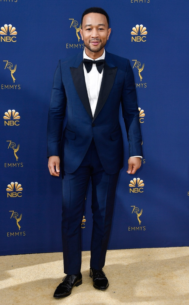 John Legend, 2018 Emmys, 2018 Emmy Awards, Red Carpet Fashions