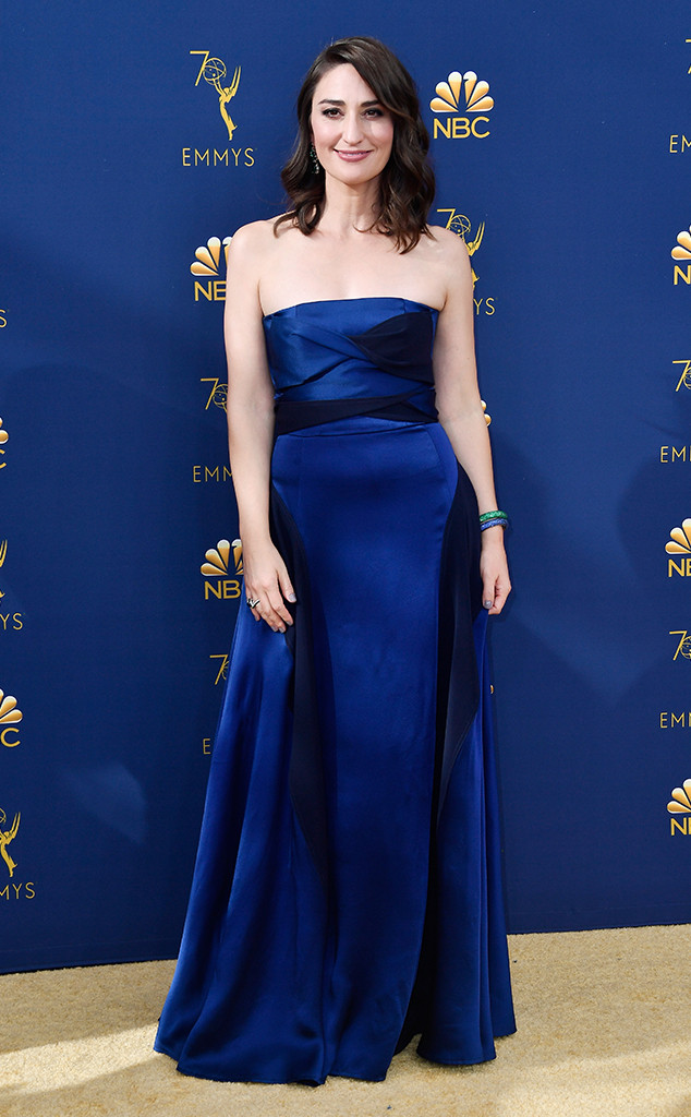 Sara Bareilles, 2018 Emmys, 2018 Emmy Awards, Red Carpet Fashions