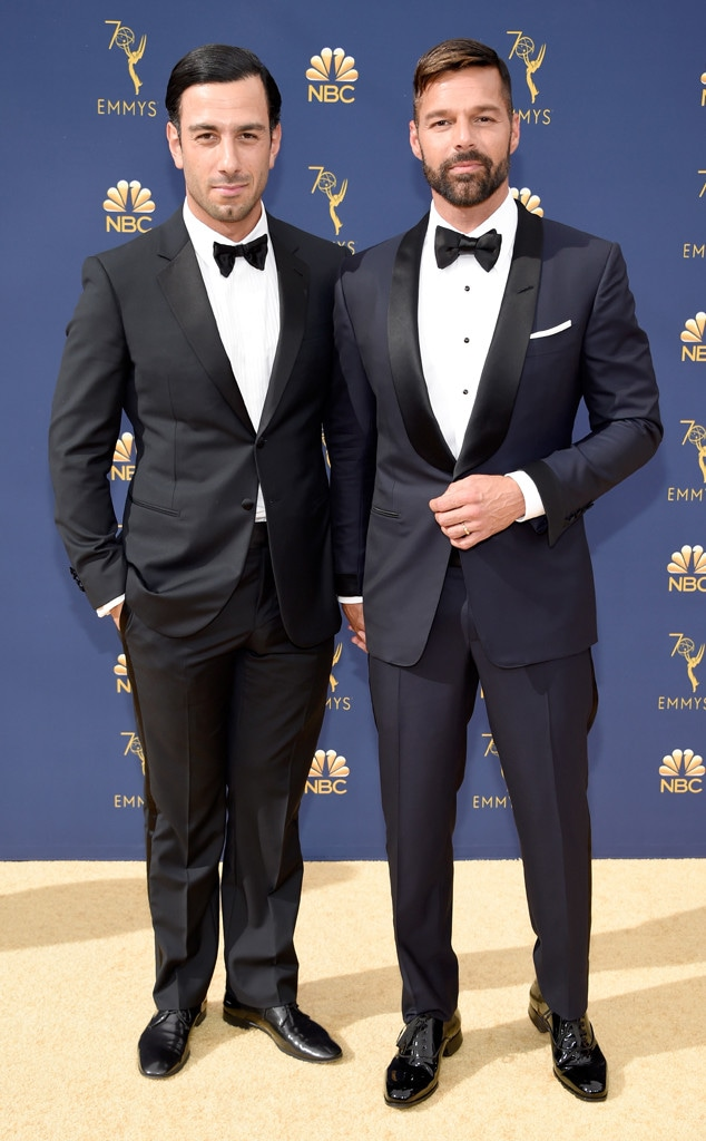 Ricky Martin, Jwan Yosef, 2018 Emmys, 2018 Emmy Awards, Couples