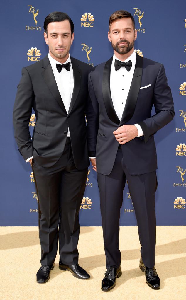 Ricky Martin, Jwan Yosef, 2018 Emmys, 2018 Emmy Awards, Couples