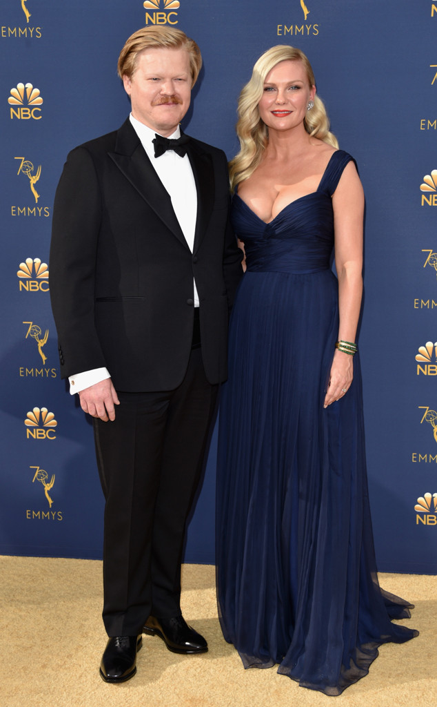 Kirsten Dunst, Jesse Plemons, 2018 Emmys, 2018 Emmy Awards, Couples
