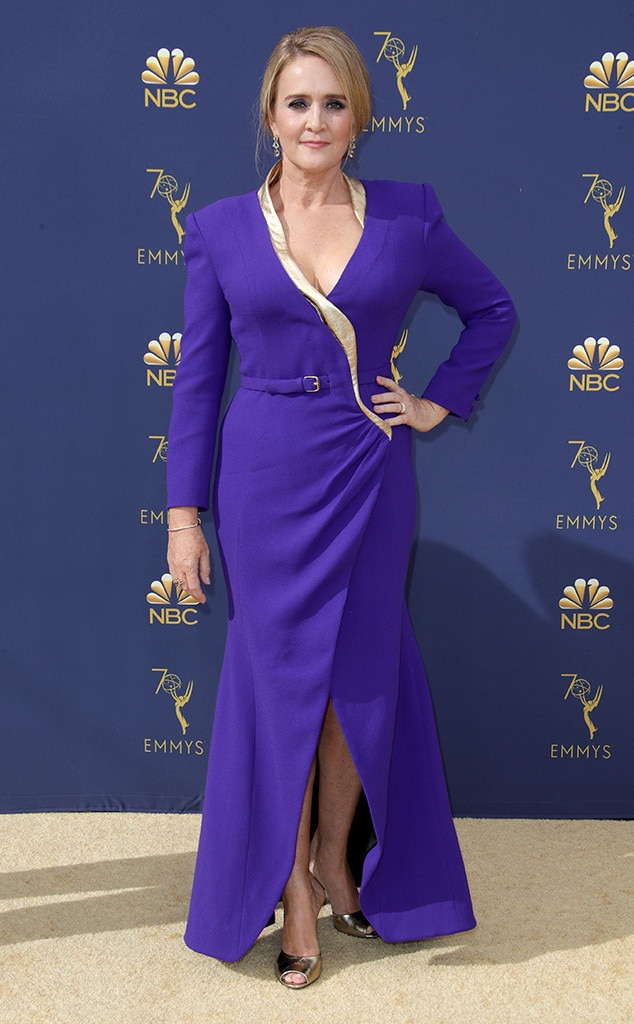 Samantha Bee, 2018 Emmys, 2018 Emmy Awards, Red Carpet Fashions