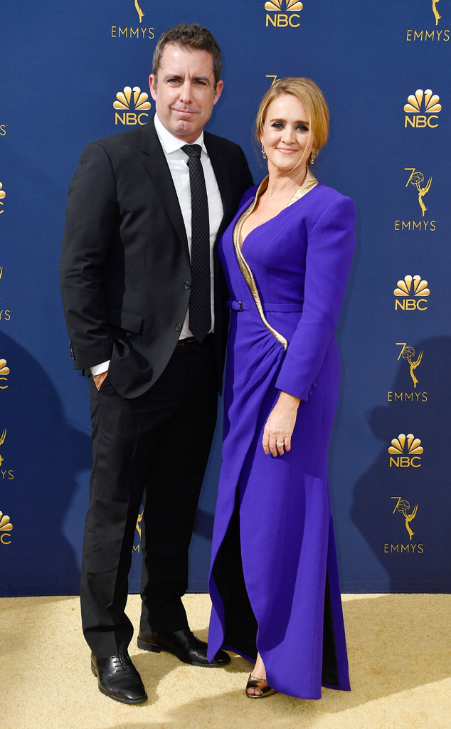 Samantha Bee, Jason Jones, 2018 Emmys, 2018 Emmy Awards, Couples