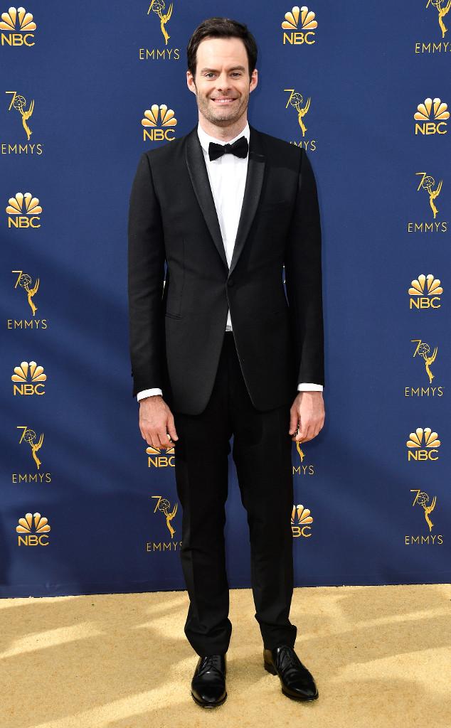 Bill Hader, 2018 Emmys, 2018 Emmy Awards, Red Carpet Fashions