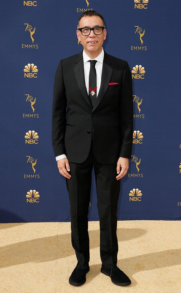 Fred Armisen, 2018 Emmys, 2018 Emmy Awards, Red Carpet Fashions