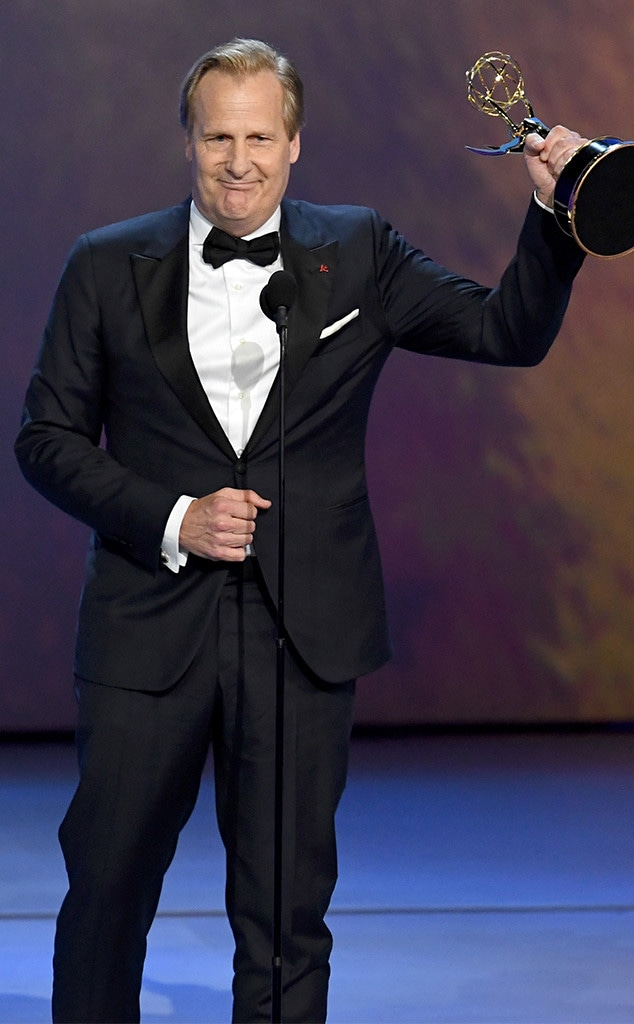 Jeff Daniels, 2018 Emmys, 2018 Emmy Awards, Winners