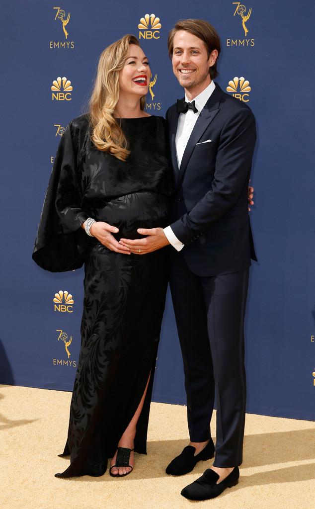 Yvonne Strahovski, Tim Loden, 2018 Emmys, 2018 Emmy Awards, Couples