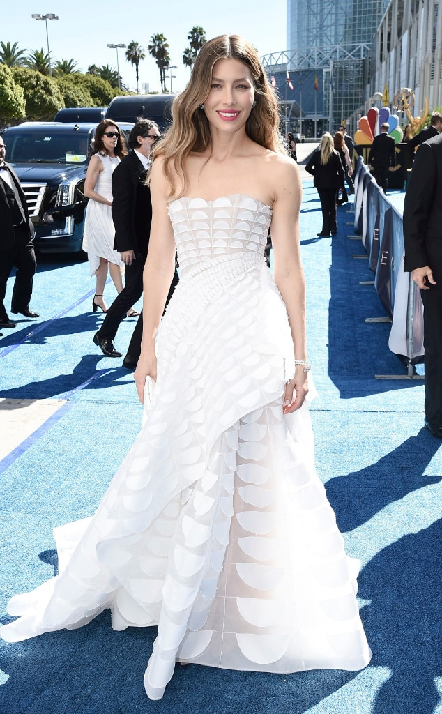 Jessica Biel Wedding Dress | Jessica Biel From 9 Emmys 2018 Outfits That Could Be Your Wedding