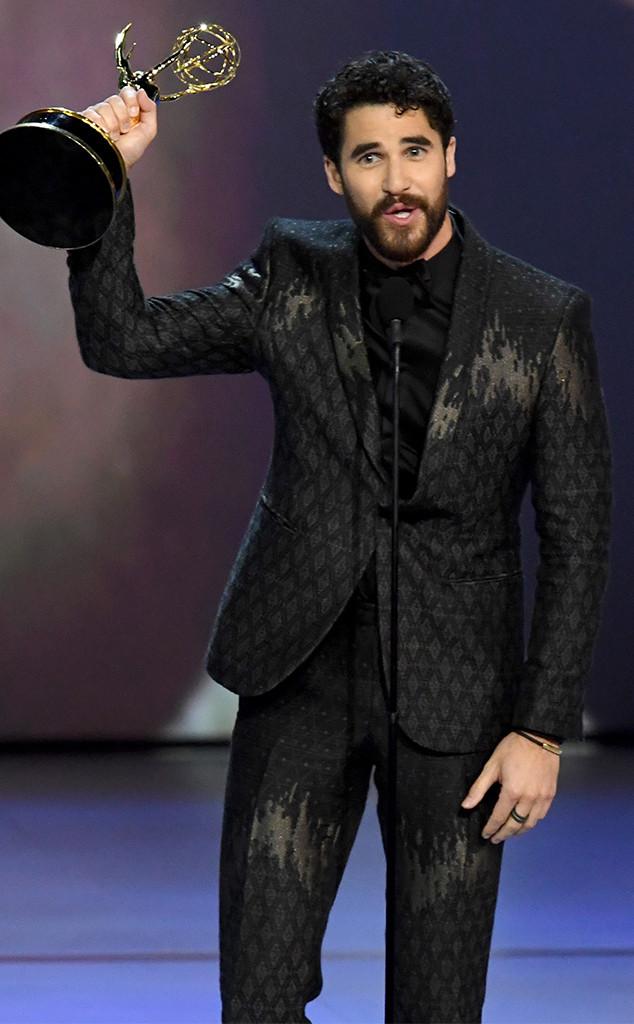 Darren Criss, 2018 Emmys, 2018 Emmy Awards, Winners
