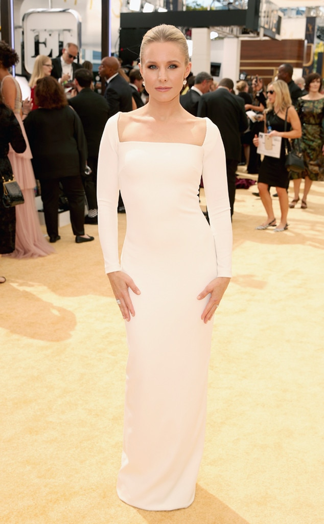 Kristen Bell From 9 Emmys 2018 Outfits That Could Be Your Wedding
