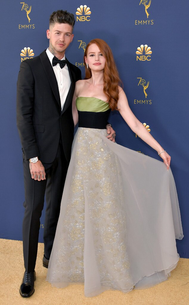 Travis Mills, Madelaine Petsch, 2018 Emmys, 2018 Emmy Awards, Couples