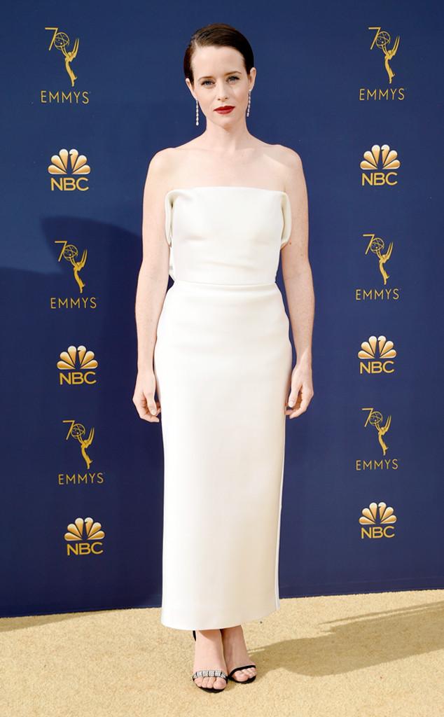 ESC: 2018 Emmy Awards, Wedding Dresses, Claire Foy
