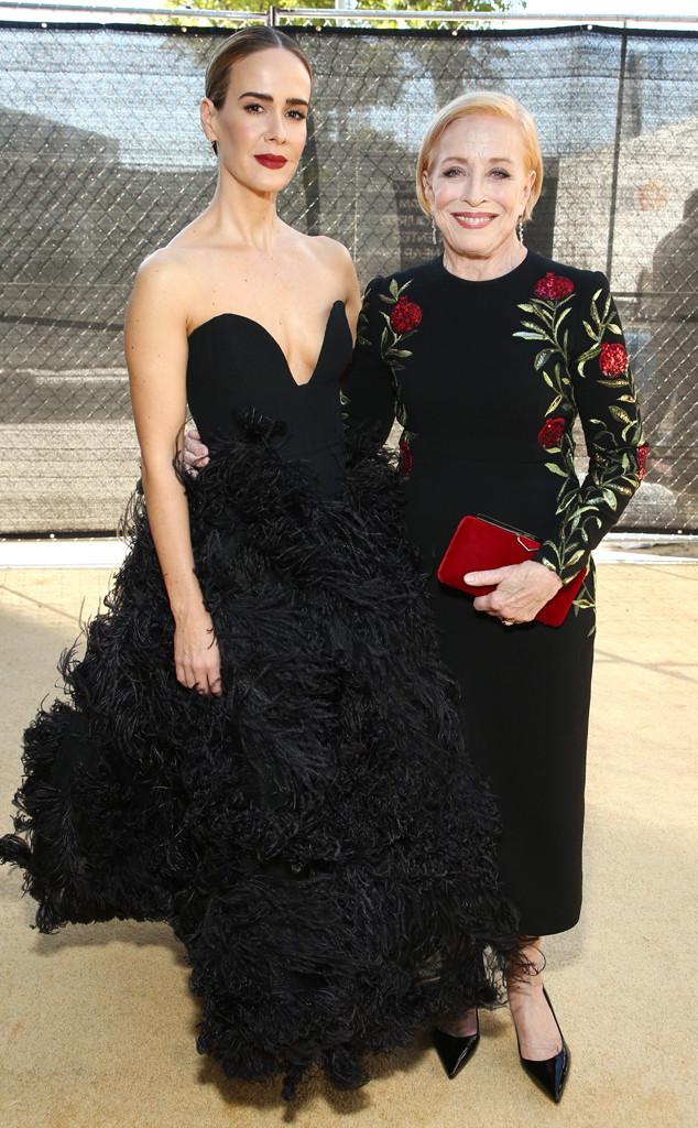 Sarah Paulson, Holland Taylor, 2018 Emmys, 2018 Emmy Awards, Couples