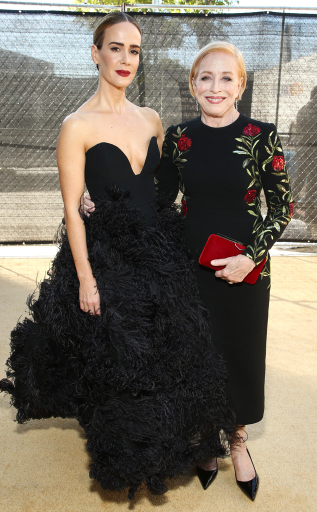 Sarah Paulson, Holland Taylor, 2018 Emmys, 2018 Emmy Awards, Couples