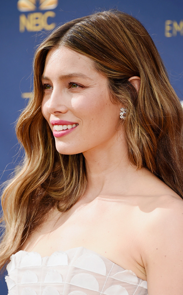 ESC: Emmy Awards 2018, Best Beauty, Jessica Biel