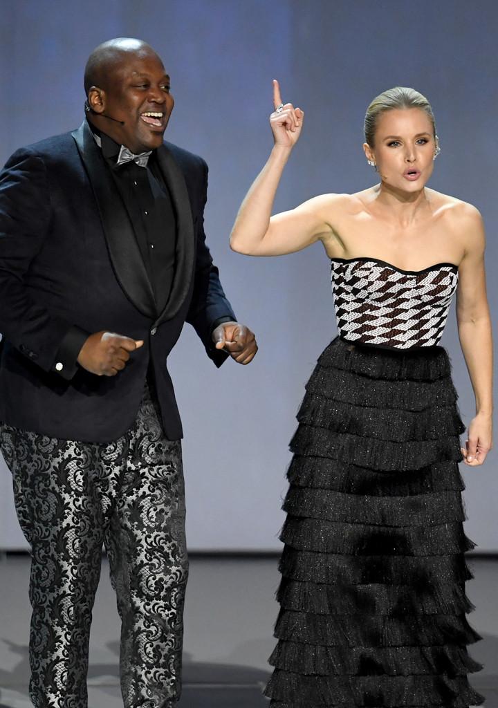 Kristen Bell, Tituss Burgess, 2018 Emmy Awards, Opening Act