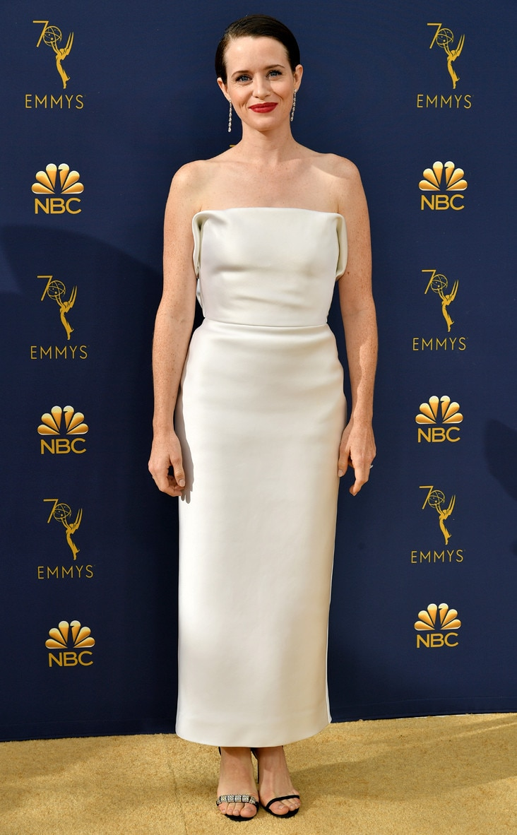 Claire Foy, 2018 Emmys, 2018 Emmy Awards, Red Carpet Fashions