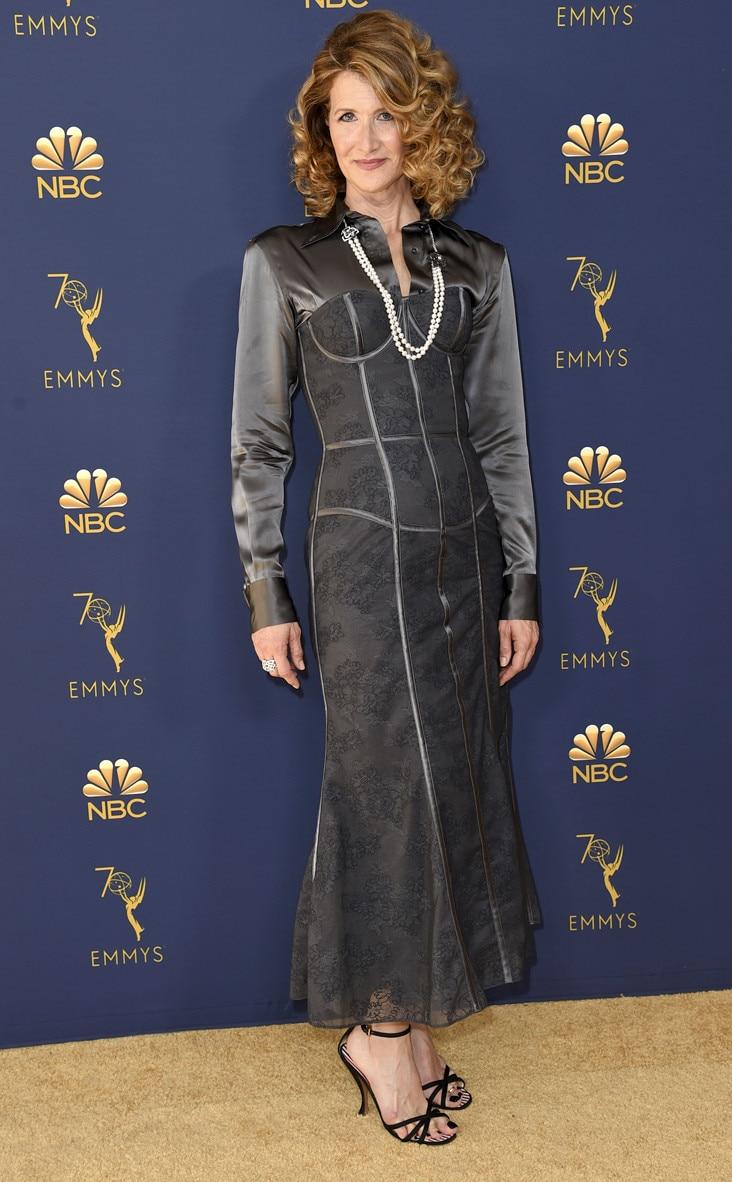 Laura Dern, 2018 Emmys, 2018 Emmy Awards, Red Carpet Fashions