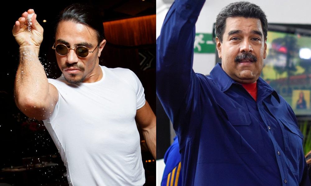 Salt Bae, Nicolas Maduro