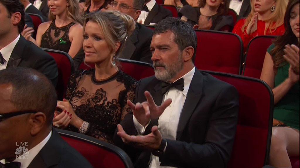 Antonio Banderas, 2018 Emmys, Clap