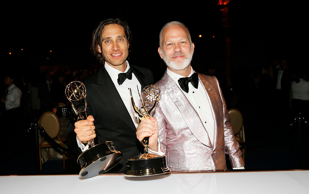 Brad Falchuk, Ryan Murphy, 2018 Emmy After Party Pics