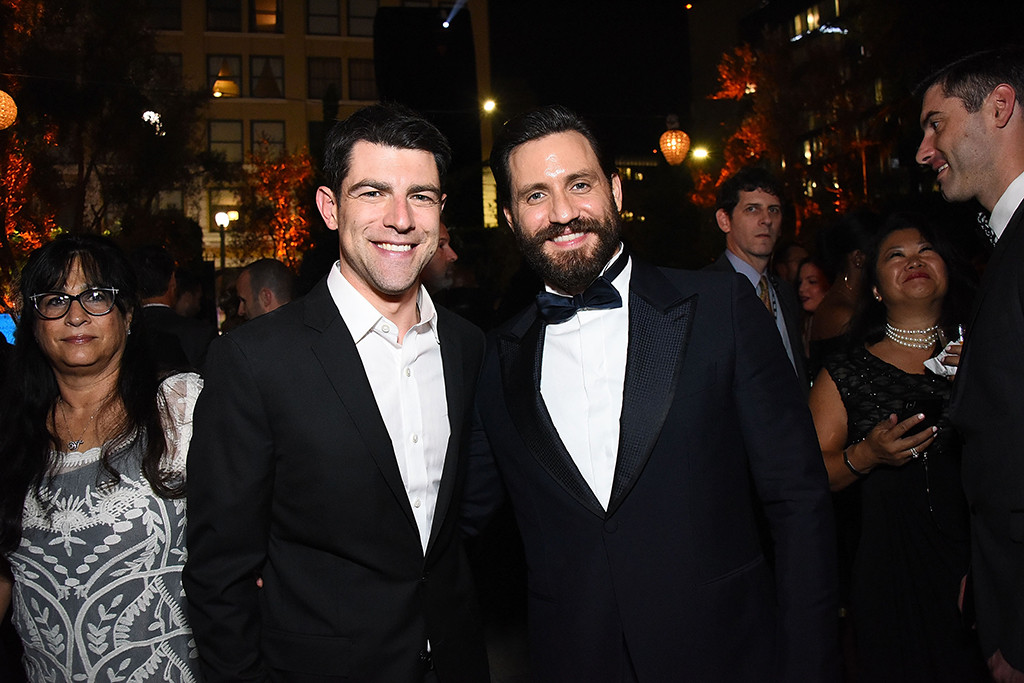 Max Greenfield, Edgar Ram?irez, 2018 Emmy After Party Pics