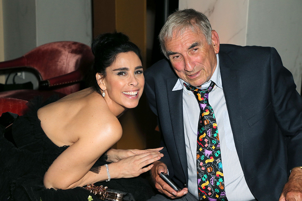 Sarah Silverman, Donald Silverman, 2018 Emmy After Party Pics