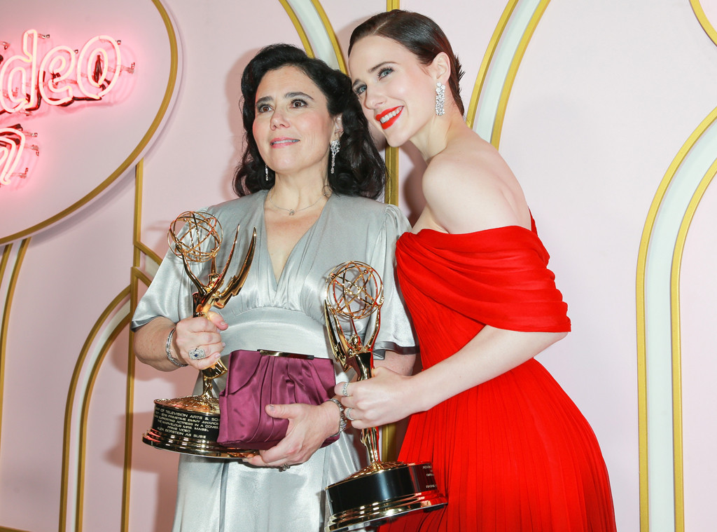 Alex Borstein, Rachel Brosnahan, 2018 Emmy After Party Pics