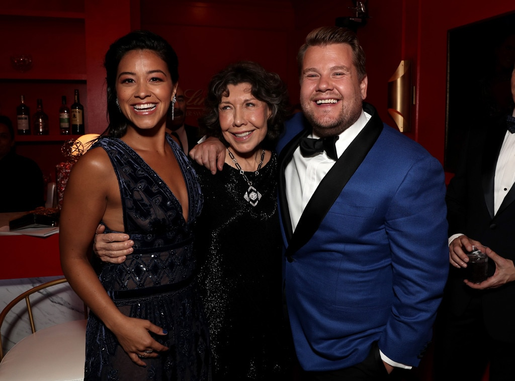 joon soo oh sandra oh young nam oh from emmys 2018 candid moments