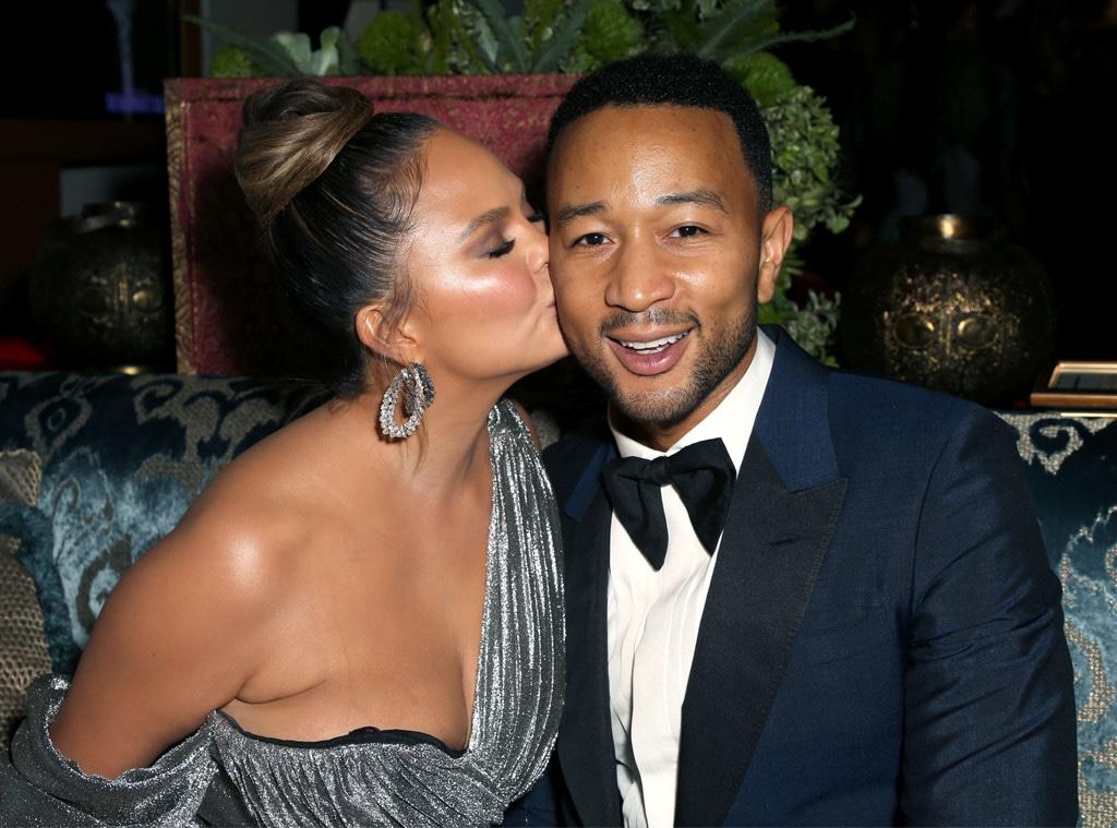 Chrissy Teigen, John Legend, 2018 Emmy After Party Pics