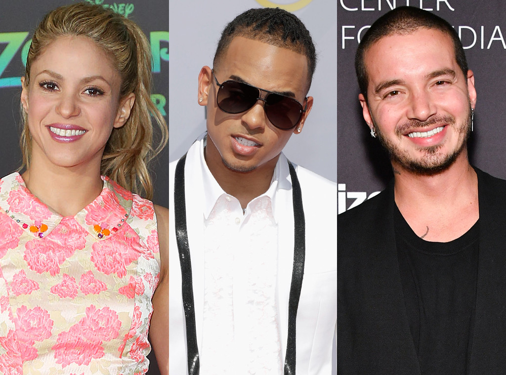 Shakira, Ozuna, J Balvin