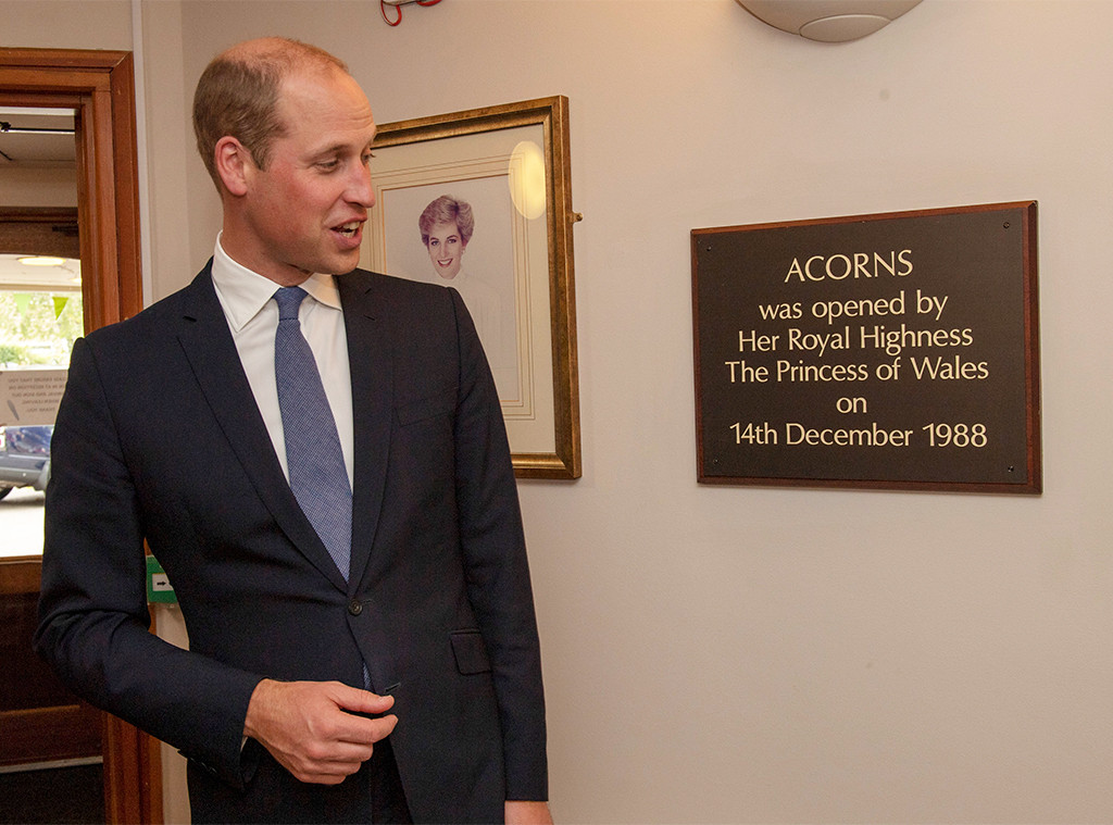 Prince William, Acorns Children's Hospice
