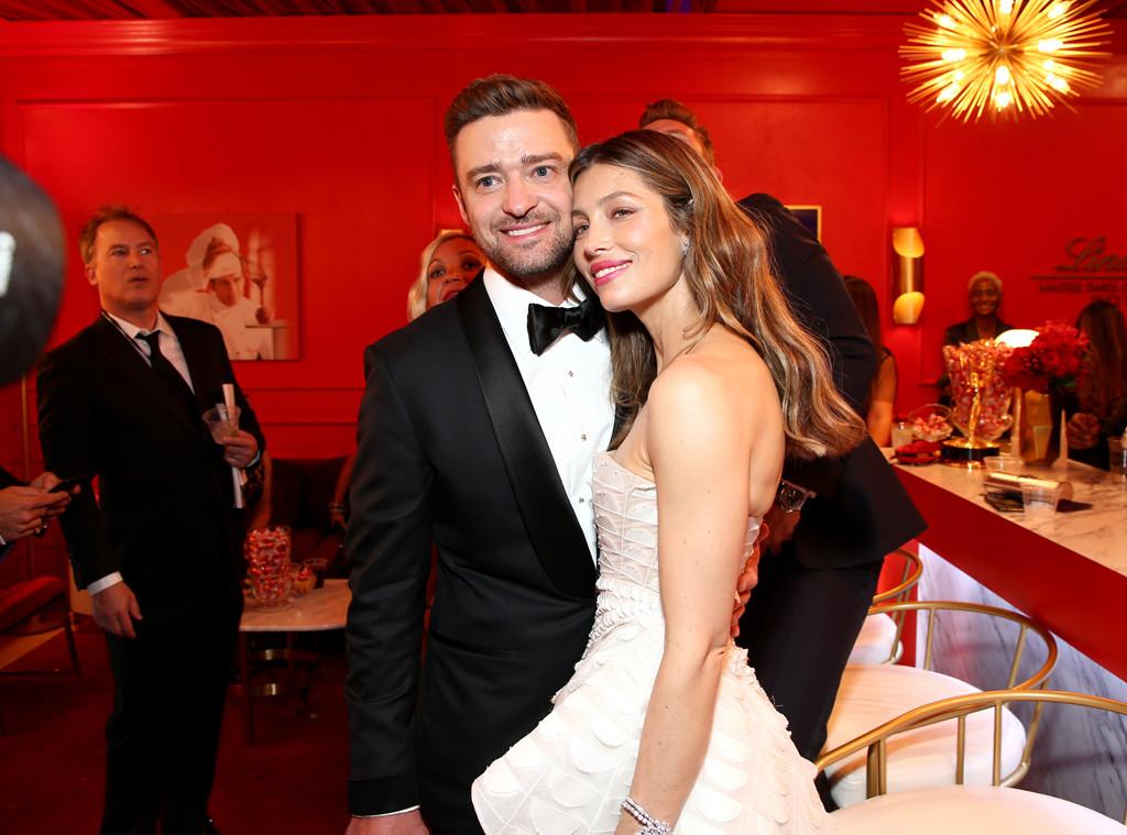 Justin Timberlake, Jessica Biel, 2018 Emmys
