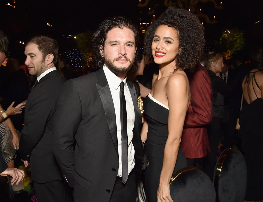 Kit Harington, Nathalie Emmanuel, 2018 Emmy After Party Pics