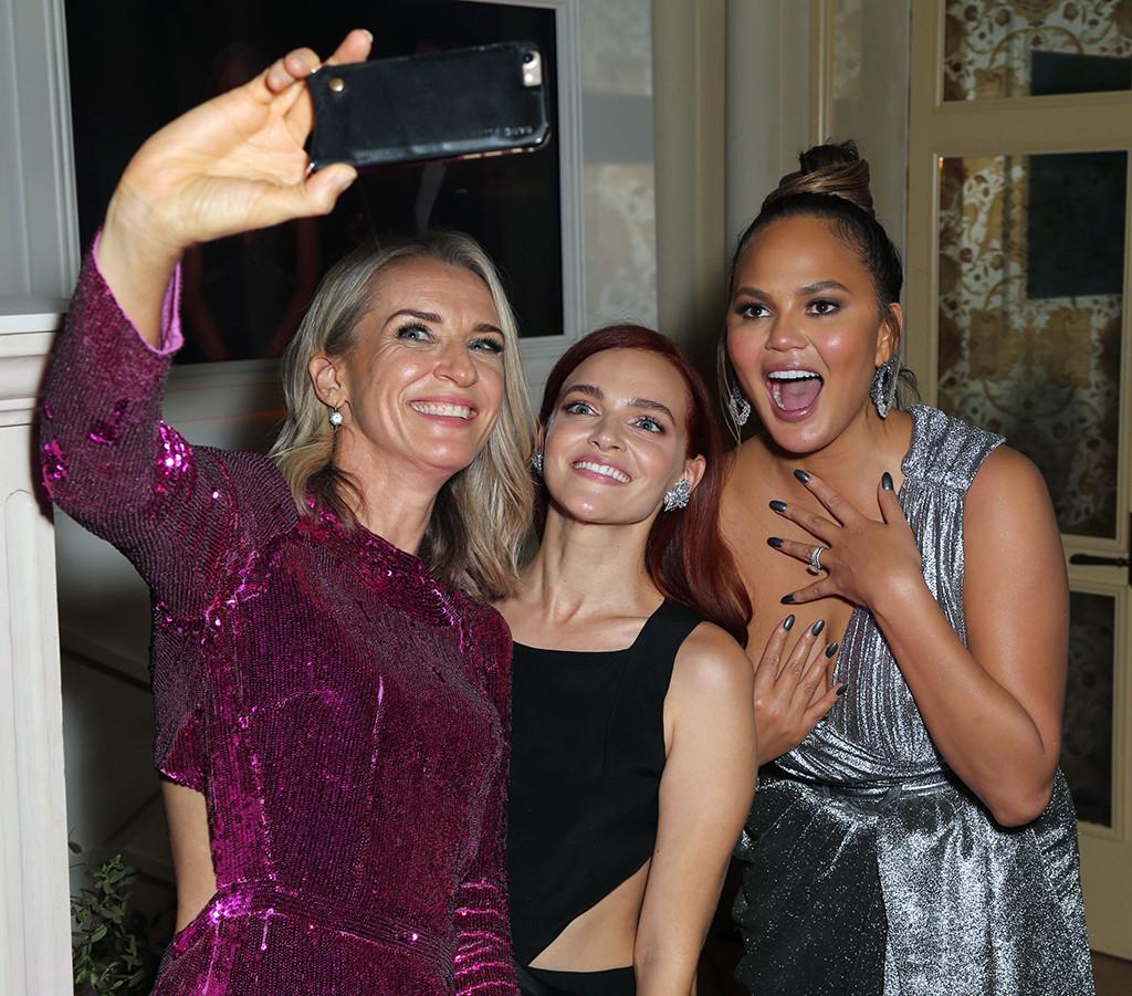 Ever Carradine, Madeline Brewer, Chrissy Teigen, 2018 Emmy After Party Pics