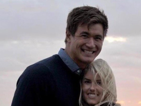 Olympian Nathan Adrian Marries Hallie Ivester: See Their Wedding Photos