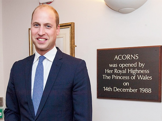 Prince William Visits Children's Hospice Princess Diana Opened 30 Years Ago