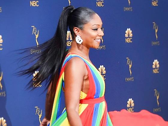 Tiffany Haddish's 2018 Emmys Stylist Law Roach Reacts to the Rainbow Memes